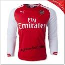 Maillots Arsenal Fc Domicile 2014/15 Manche Longue