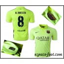 Maillots Barcelone A.Iniesta 2015 Race Third Boutique Paris