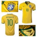 Maillots Brésil Neymar Jr 2014-15 Domicile Soldes Provence