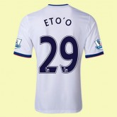 Maillots Chelsea (Eto'O 29) 2015/16 Extérieur Adidas Retro France Magasin