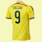 Maillots Colombie (Falcao 9) 2014 World Cup Domicile Adidas France Magasin
