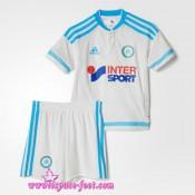 Maillots De Foot 2015/16 Olympique De Marseille Maillot Foot Enfant Kits 2015/16 Game Domicile Soldes Lyon
