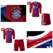 Maillots Enfant Kit Bayern Munich Ml 2014 2015 Domicile Shop France