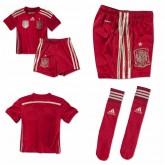 Maillots Enfant Kit Espagne 2014-15 Domicile