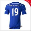 Maillots Fc Chelsea (Diego Costa 19) 2014-15 Domicile Fashion
