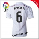 Maillots Fc Real Madrid (Khedira 6) 2014/15 Domicile