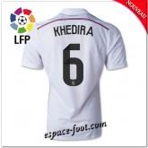 Maillots Fc Real Madrid (Khedira 6) 2014/15 Domicile
