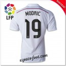 Maillots Fc Real Madrid (Modric 19) 2014-15 Domicile