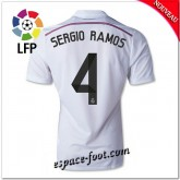 Maillots Fc Real Madrid (Sergio Ramos 4) 2014-15 Domicile
