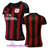 Maillots Foot 2015 2016 Ac Milan Maillot Foot Femme 2015 2016 Game Domicile
