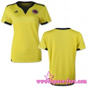 Maillots Foot 2015/2016 Colombie Maillot Femme 2015/2016 Game Domicile