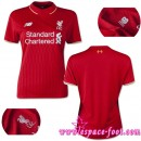 Maillots Foot 2015 2016 Liverpool Maillots Femme 2015 2016 Game Domicile Réduction