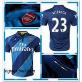 Maillots Foot Arsenal Welbeck 2014 2015 Third