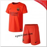 Maillots Foot Barcelone Fc Extérieur 2014 15 Enfant Trousse Authentique