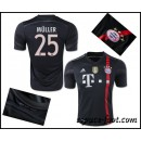 Maillots Foot Bayern Munich Muller 2015 Race Third Ventes Privees