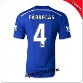 Maillots Foot Fc Chelsea (Fabregas 4) 2014 2015 Domicile Réduction