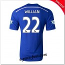 Maillots Foot Fc Chelsea (Willian 22) 2014-15 Domicile Rabais