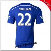 Maillots Foot Fc Chelsea (Willian 22) 2014-15 Domicile Rabais