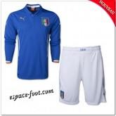 Maillots Foot Italie Enfant Trousse 2014-15 Manche Longue Domicile