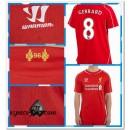Maillots Foot Liverpool Gerrard 2014 2015 Domicile Nouveau