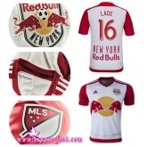 Maillots Foot - Maillot Foot New York Red Bulls Lade 2015 Game Domicile