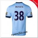 Maillots Foot Manchester City (Boyata 38) 2014 2015 Domicile