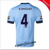Maillots Foot Manchester City (Kompany 4) 2014-15 Domicile