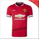 Maillots Foot Manchester United Domicile 2014 15