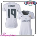 Maillots Foot Real Madrid Fc Modric 2015/2016 Femme Domicile Maillot Foot 2015/2016 Achat À Prix Bas