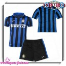 Maillots Inter Milan 2015 2016 Enfant Kits Domicile Maillot Football 2015/2016