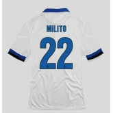 Maillots Inter Milan (Milito 22) 2015/16 Extérieur Nike En Ligne Soldes Provence