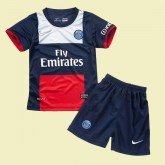 Maillots Juniors Paris Saint Germain 2014-2015 Domicile #3130 Prix France
