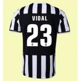 Maillots Juventus (Vidal 23) 2015/16 Domicile Fashion