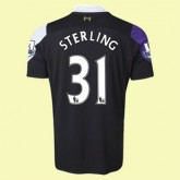Maillots Liverpool (Sterling 31) 2015/16 3rd Fiable Achat