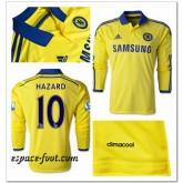 Maillots Manche Longue Chelsea Hazard 2014 15 Extérieur Nice