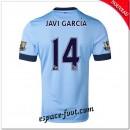 Maillots Manchester City (Javi Garcia 14) 2014 15 Domicile
