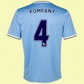 Maillots Manchester City (Kompany 4) 2015/16 Domicile