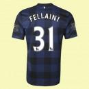 Maillots Manchester United (Fellaini 31) 2014-2015 Extérieur Nike