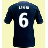 Maillots Marseille (Barton 6) 2014-2015 3rd Adidas