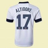 Maillots Usa (Altidore 17) 2014-2015 Domicile Nike Personnaliser Provence