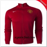 Manchester United N98 Veste Rouge Magasin Lyon