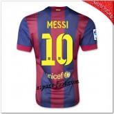 Messi 10 Maillot Barcelone Fc Domicile 2014 15 Vente Privee