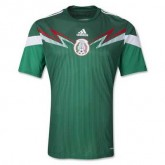 Mexique Maillot De Football Domicile Coupe Du Monde 2014 Adidas Magasin Lyon