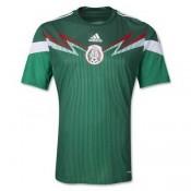 Mexique Maillot De Football Domicile Coupe Du Monde 2014 Adidas Magasin Lyon