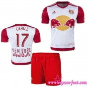 New York Red Bulls Maillot Cahill Baby Kits 2015/2016 Game Domicile Maillot Foot Cahill 2015/2016