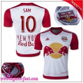 New York Red Bulls Maillot Sam 2015/16 Game Domicile Maillot De Foot Sam 2015/16