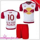 New York Red Bulls Maillot Sam Baby Kits 2015 2016 Game Domicile Maillots Foot Sam 2015 2016