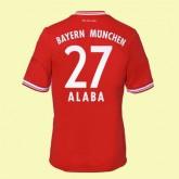 Nouveau Maillot De Foot (Alaba 27) Bayern Munich 2014 2015 Domicile Adidas Vintage Authentique