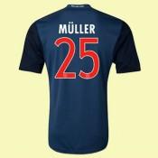 Nouveau Maillot De Foot Bayern Munich (Muller 25) 15/16 3rd Adidas Soldes Paris