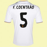 Nouveau Maillot De Football Real Madrid (Fábio Coentr?O 5) 15/16 Domicile Adidas